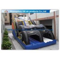 Wholesale Funny Bat Backyard Water Slide Inflatable , Bounce House Water Slide For Kids from china suppliers