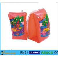 Wholesale Swimming Arm Ring Circle Orange Baby Swimming Ring Scratch Free PVC Water Tube from china suppliers