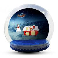 Quality 5m Customized Inflatable Snow Globe For Party / Event / Promotion for sale