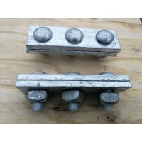 Wholesale Anti Rust Power Line Fittings Hot Dip Galvanized Steel Cable Strand Messenger Clamp from china suppliers