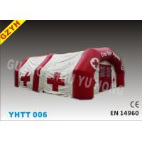 Wholesale 500D PVC Red Cross Inflatable Medical Tent YHTT-006 with 3 Layers from china suppliers