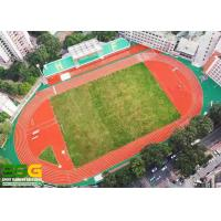 Quality School Construction Project Case , 400m Standard Prefabricated Roll Running Track for sale