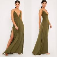 Wholesale New arrival khaki sexy women chic party dress from china suppliers