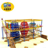 Wholesale Play Center Indoor Ninja Obstacle Course Equipment High Strength Structure from china suppliers