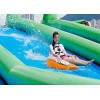 Wholesale crazy long adults inflatable water slide slide the city 1000ft slip N from china suppliers