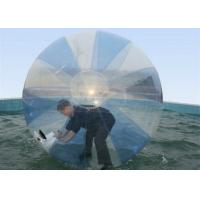 Wholesale UV Protective Pool Hamster Ball , Inflatable Water Walking Ball With CE Blower from china suppliers