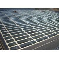 Buy cheap ISO9001 Serrated Steel Grating For Flooring Customized Cross Bar Spacing from wholesalers