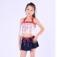 Wholesale Exquisite Striped Girl Exclusive Swimsuit from china suppliers