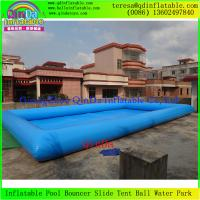 Wholesale 2015 Large Round Inflatable Family PVC Swimming Pool For Adults And Kids Enjoy Water Games from china suppliers