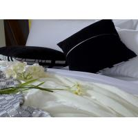 Wholesale 100 Percent Cotton Luxury Hotel Bedding Sets White Sateen Bed Linen from china suppliers