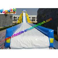 China ODM Big Commercial Inflatable Slide Water Splash For Summer Game on sale