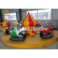 Wholesale Funfair Game Children'S Amusement Park Rides Electric Motor Racing Car Ride from china suppliers