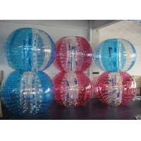 Wholesale Colorful Inflatable Bubble Ball Zorbing Soccer Bumper Ball For Outdoor Play from china suppliers
