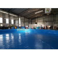 Wholesale Durable Quick - Set Round Inflatable Swimming Pool For Summer Family / Outdoor Garden from china suppliers
