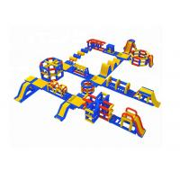 China 0.9mm Plato PVC Tarpaulin Giant Inflatable Water Park Games ,  Sport Park 35 Parts on sale