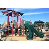 Wholesale 6mm - 8mm Fiberglass Water Spray Park Equipment , Hand Spray Up 10m Height For Kids from china suppliers