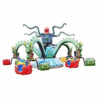 Wholesale 5 Arms Theme Park Rides / Dragon Decorative Octopus Fair Ride from china suppliers