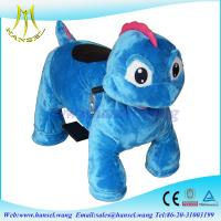 Wholesale Hansel best selling coin operated rideable dinosaur animal rides from china suppliers