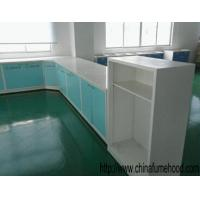 Wholesale Wall Mounted Steel Lab Furniture 12.7mm Solid Worktop Alkali Resistant from china suppliers