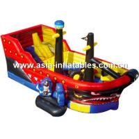 Wholesale Creative Inflatable Pirate Ship Funland, Inflatable Funcity For Children Games from china suppliers