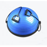 Wholesale Blue Fitness Gym Yoga Pilates Training Ball Half Balance Ball With Pump from china suppliers