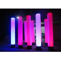 Wholesale Colorful Inflatable Column Built In Blower With Led Light / Repair Kit from china suppliers