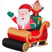 Buy cheap Inflatable Santa Claus for Christmas Decoration from wholesalers
