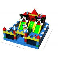 Wholesale Commercial Grade Fun City Inflatables Castle Jumping Bouncer Combo 7X6X4.2m from china suppliers