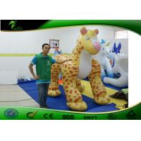 Wholesale 3M Cartoon Inflatable Leopard Costumes / Inflatable Advertising Products from china suppliers
