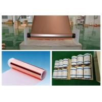 Wholesale Mobile Phone Lithium ion Battery Copper Foil , 20 Mic Electrolytic Copper Foil from china suppliers