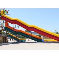Wholesale Combo Size PVC Blow Up Single Lane Water Slide Colorful Tube Handrails from china suppliers