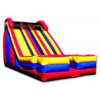 China Dual 2  Lanes Large Inflatable Slide 0.55 Mm PVC Tarpaulin Enviroment - Friendly on sale