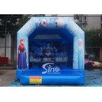Wholesale Commercial grade kids frozen bouncy castle with roof made of 610g/m2 pvc tarpaulin from china suppliers