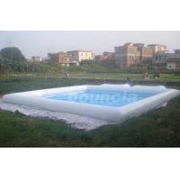 Wholesale White Square Outdoor Inflatable Water Pool For Water Walking Ball from china suppliers