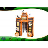 Wholesale Inflatable Halloween Arch Decoration Inflatable Pumpkin / Ghost With Candy Tote from china suppliers