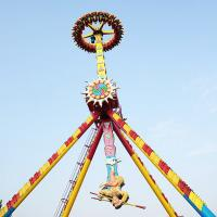 Wholesale 360 Degree Giant Frisbee Ride Rated Load 23 Riders Running Height 23m from china suppliers