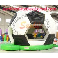 Buy cheap Football Soccer Inflatable Bouncy Castle For Inflatable Sport Games from wholesalers