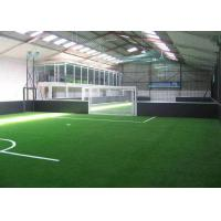 Wholesale Eco Friendly Synthetic Artificial Grass / Indoor Football Turf  20GP Loading 2800 - 3200 ㎡ from china suppliers
