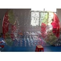 Wholesale Giant Children Swimming Pool Inflatable Water Roller , Inflatable Rolling Ball from china suppliers