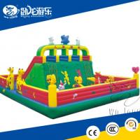 China Inflatable climbing wall / inflatable rock wall on sale
