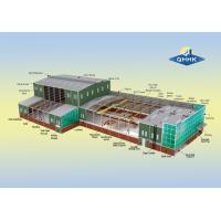 Wholesale Water Proof Steel Structure Workshop Buildings Hot Dip Galvanized Surface from china suppliers