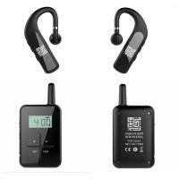 Wholesale Bone - Conduction Bluetooth Tour Guide System With Earphone 860 - 870 Frequency from china suppliers