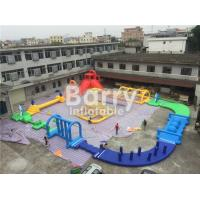 Giant 22 * 25m Adult Amazing Inflatable Water Park With Air Blower / Repair Material