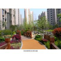 Wholesale Custom EPDM Jogging Track , Fireproof Rubber Running Track IAAF Certification from china suppliers