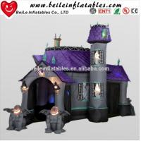 Wholesale Big halloween inflatable haunted house for sale from china suppliers