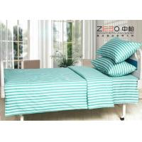 Wholesale Different Color Striped Fitted Bed Sheets , Cotton Flat Sheets BS-10 from china suppliers