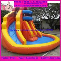 Wholesale Guangzhou QinDa Children Favourite Playing Game Inflatable Castle Slide with CE from china suppliers
