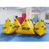 Wholesale PVC Triangle Inflatable Marker Buoy / Swimming Buoy Markers For Sea from china suppliers