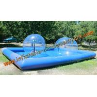 Wholesale Blue Inflatable Human Sized Hamster Ball / Inflatable Walk On Water Ball from china suppliers