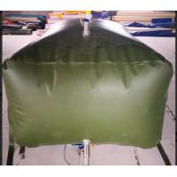 Buy cheap Army 3000L Gasoline Bladder Fuel Tank Collapsible Water Bladder Tank For Truck from wholesalers